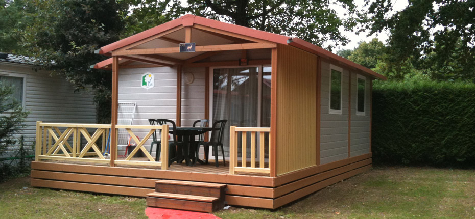Camping avec location de chalet en Yvelines