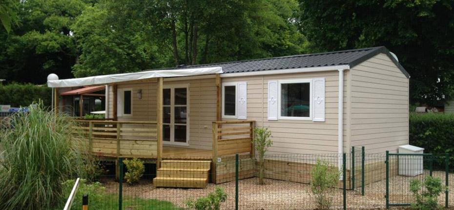Camping avec location de mobil-home dans les Yvelines