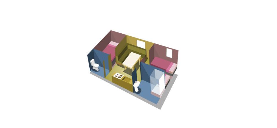 Plan de la location de mobile home près de Paris