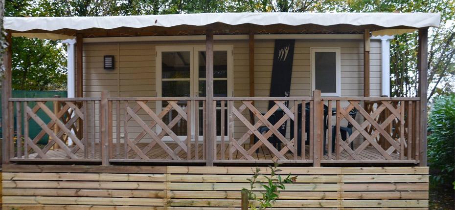 Camping avec location de mobile-home proche de Paris
