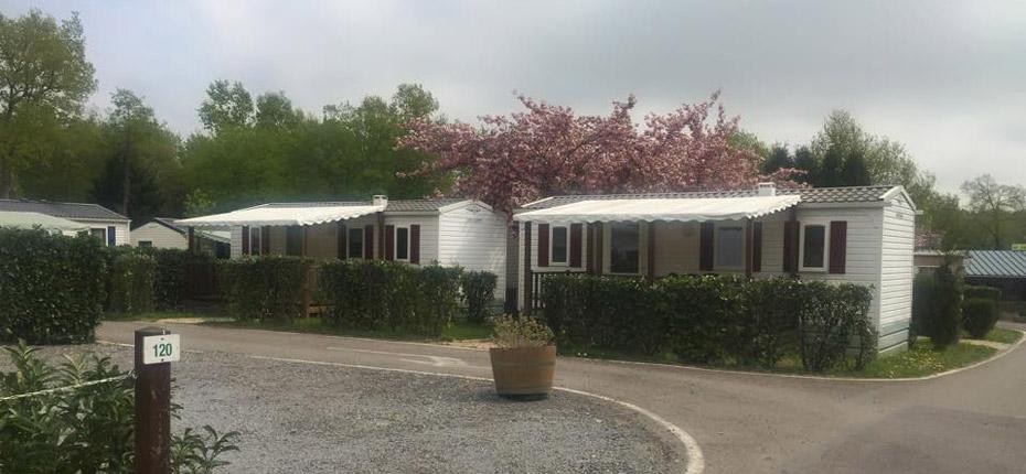 Camping avec location de mobile home dans les Yvelines
