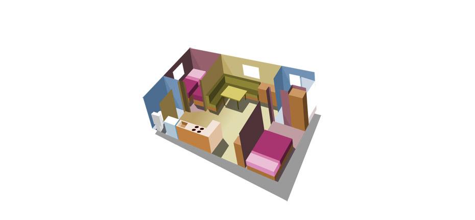 Plan de la location de mobile home dans les Yvelines
