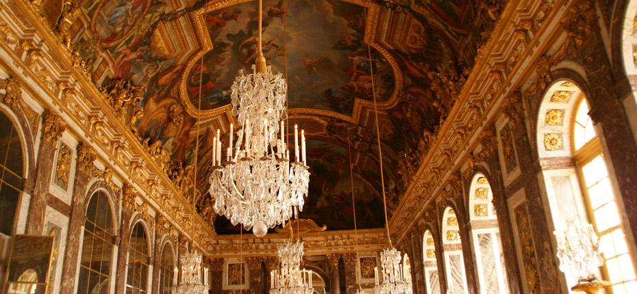 Interieur du château de Versailles à 30 minutes du camping